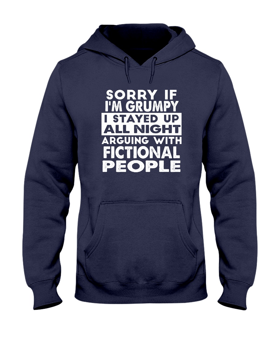 Grumpy Writer Hooded Sweatshirt
