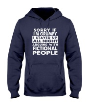 Grumpy Writer Hooded Sweatshirt front