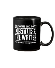 Do Not Disturb Writer Funny Humor Mug front