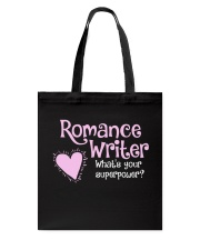 Romance Writer Superpower Tote Bag thumbnail