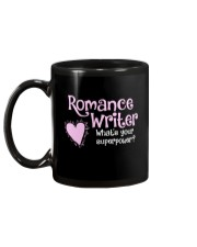 Romance Writer Superpower Mug back