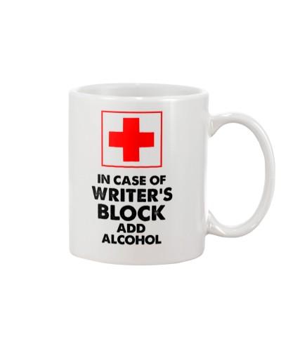 Writer's Block Emergency Mug