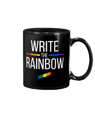 WRITE THE RAINBOW - PRIDE MONTH