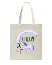 Unicorn Do It Tote Bag thumbnail
