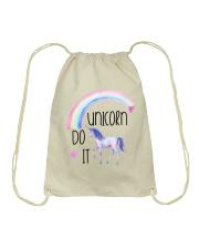 Unicorn Do It Drawstring Bag thumbnail