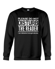 Do Not Disturb Reader Funny Humor Crewneck Sweatshirt thumbnail