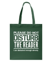 Do Not Disturb Reader Funny Humor Tote Bag tile