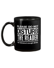 Do Not Disturb Reader Funny Humor Mug back