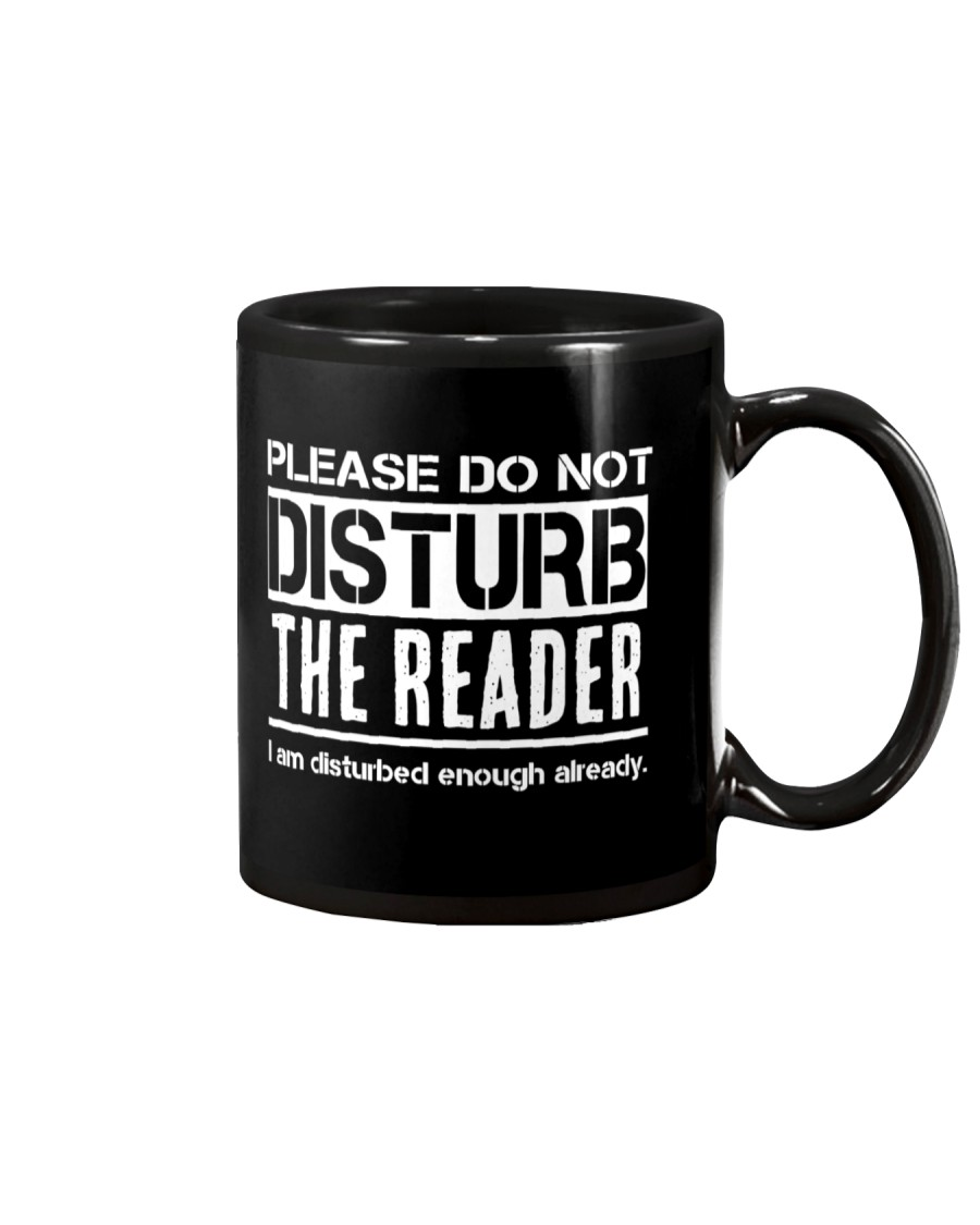 Do Not Disturb Reader Funny Humor Mug