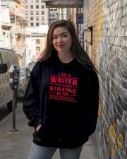 Writers Are Strange Hooded Sweatshirt lifestyle-unisex-hoodie-front-1