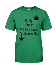 Help Our Veterans Naturally  Premium Fit Mens Tee thumbnail