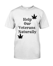 Help Our Veterans Naturally  Premium Fit Mens Tee tile