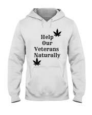 Help Our Veterans Naturally  Hooded Sweatshirt thumbnail