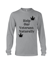 Help Our Veterans Naturally  Long Sleeve Tee front