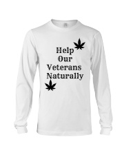 Help Our Veterans Naturally  Long Sleeve Tee thumbnail