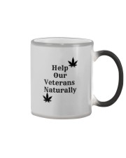 Help Our Veterans Naturally  Color Changing Mug color-changing-right