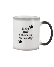 Help Our Veterans Naturally  Color Changing Mug thumbnail