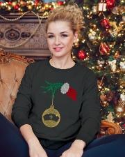 Nurse Christmas Gift Crewneck Sweatshirt lifestyle-holiday-sweater-front-2