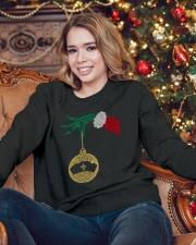 Nurse Christmas Gift Crewneck Sweatshirt lifestyle-holiday-sweater-front-3