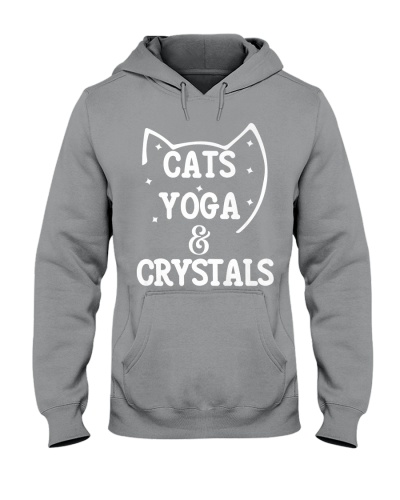 CATS YOGA AND CRYSTALS