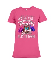 JUNE PERFECT GIRL LIMITED Premium Fit Ladies Tee tile