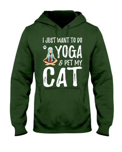 I JUST WANT TO DO YOGA WITH CAT