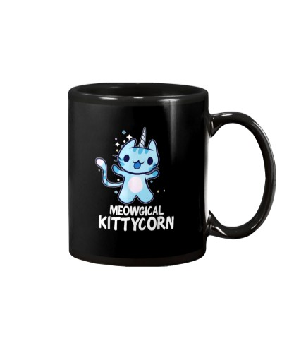 Cute Unicorn Cat Lover Women Girls Christmas Gift