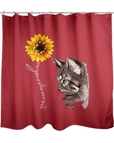 Sunflower Cat Hippie Gift Friends Cats Lovers