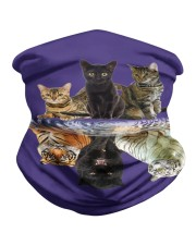 Cats Reflection Gift Friend Cat Lovers Cut Tiger  Neck Gaiter thumbnail