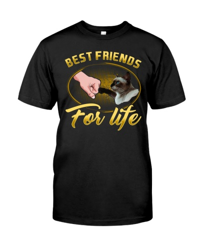 Siamese Cat Best Friends For Life Gift Friend