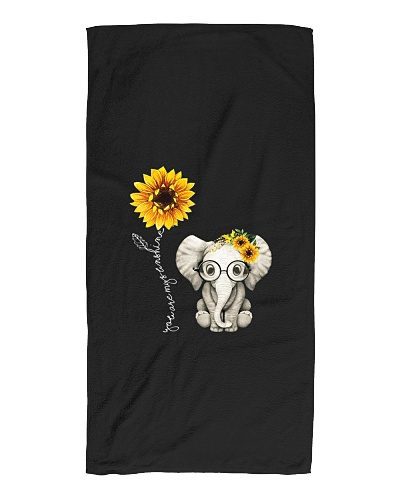 Elephant Lovers Hippie Sunflower For Gift Friend