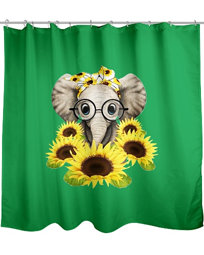 Elephant Sunflower Cut Elephant Love Sunflower