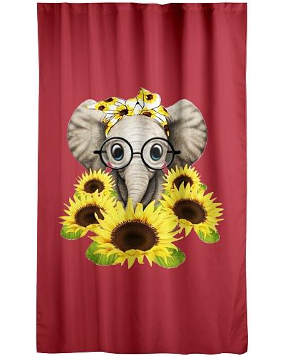 Elephant Sunflower Cut Elephant Love Sunflower