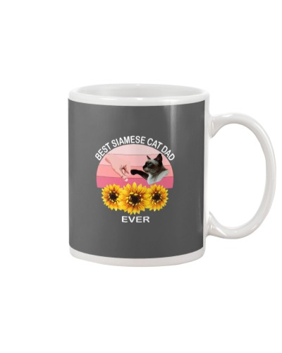 Best Siamese Cat Dad Ever Gift Friends Cat Lovers