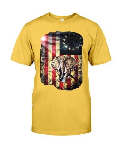 Elephant Betsy Ross USA