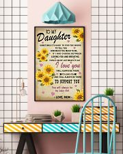 To my Daughter 11x17 Poster lifestyle-poster-6