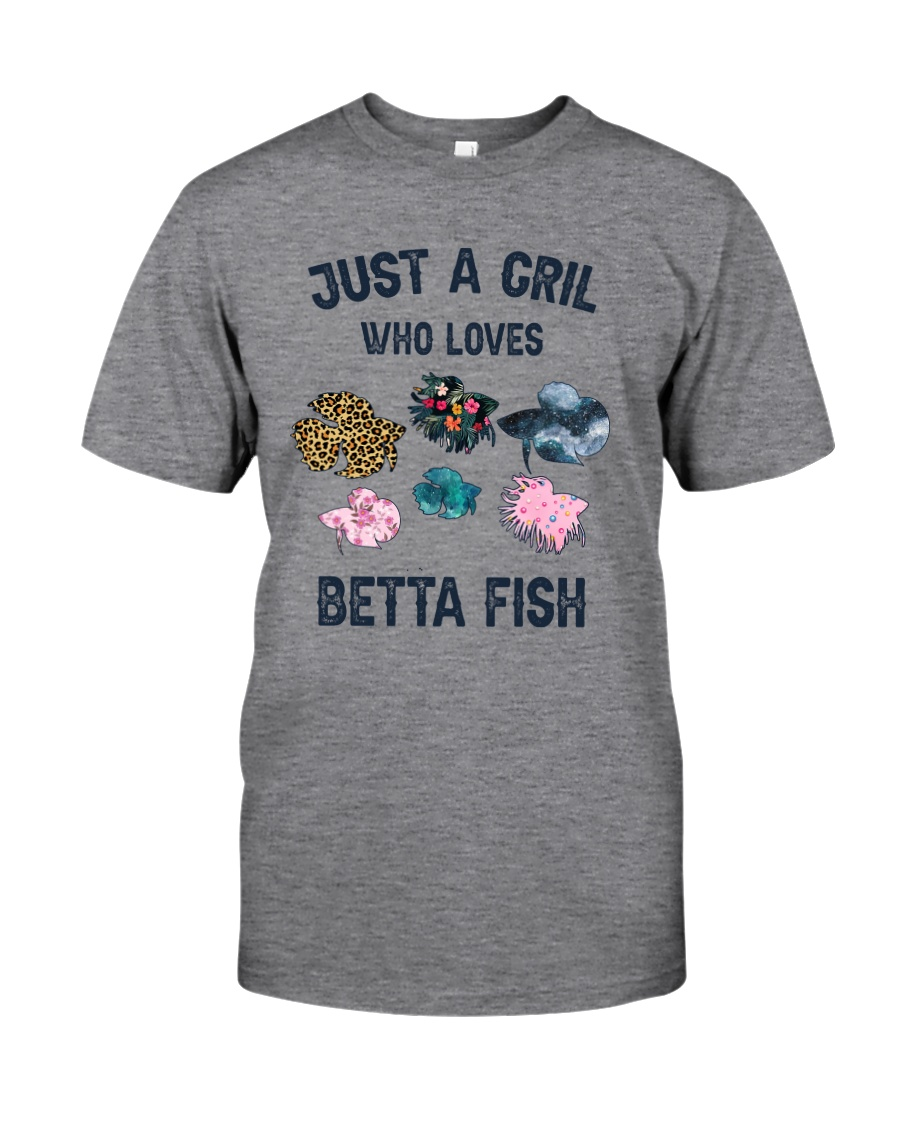 Just a girl who loves Betta fish Classic T-Shirt