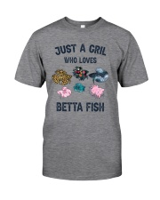 Just a girl who loves Betta fish Classic T-Shirt front