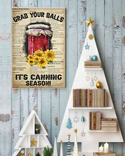 Grab your Balls It's Canning Season 16x24 Poster lifestyle-holiday-poster-2