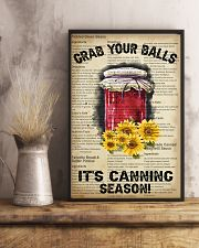 Grab your Balls It's Canning Season 16x24 Poster lifestyle-poster-3