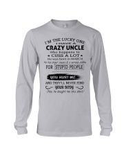 I HAVE A CRAZY UNCLE-MARCH Long Sleeve Tee thumbnail