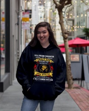 I'M A PROUD DAUGHTER OF A CRAZY DAD Hooded Sweatshirt lifestyle-unisex-hoodie-front-2