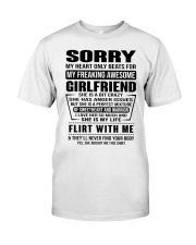 AWESOME GIRLFRIEND Classic T-Shirt front