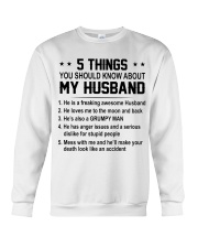 5 THINGS - DTS Crewneck Sweatshirt thumbnail