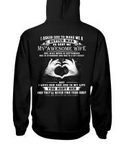 BETTER MAN 9 - PTT Hooded Sweatshirt back