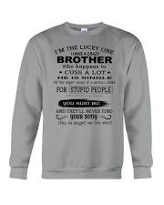BROTHER - SINGLE Crewneck Sweatshirt thumbnail