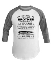 BROTHER - SINGLE Baseball Tee thumbnail