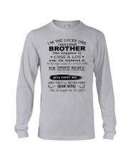 BROTHER - SINGLE Long Sleeve Tee thumbnail