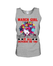 I CAN BE MEAN MARCH Unisex Tank thumbnail
