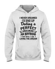 BOYFRIEND - JAN Hooded Sweatshirt front